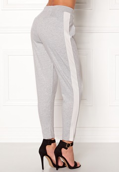 77thFLEA Helsinki Trousers Light grey / White Bubbleroom.se