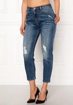 77thFLEA Indigo boyfriend jeans Medium blue Bubbleroom.se