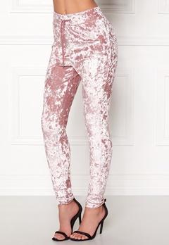 77thFLEA Lori Slim Sweatpants Dusty pink Bubbleroom.dk