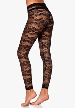 77thFLEA n.e.e.d.s Leonore lace leggings Black Bubbleroom.se