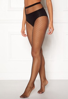 77thFLEA Net tights Black Bubbleroom.fi