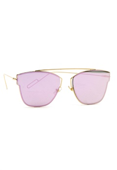 77thFLEA Pinky Sunglasses Gold Bubbleroom.eu