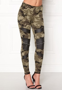 77thFLEA Pixie Leggings Camouflage / Black Bubbleroom.eu
