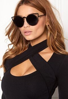 77thFLEA Pointy Sunglasses Black Bubbleroom.fi