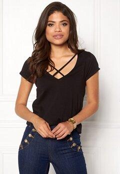 77thFLEA Selina T-shirt Black Bubbleroom.se
