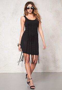 77thFLEA Tangier fringe Dress Black Bubbleroom.eu