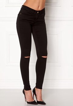 77thFLEA Vera superstretch jeans Black Bubbleroom.fi