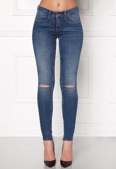 77thFLEA Vera superstretch jeans Medium blue Bubbleroom.se