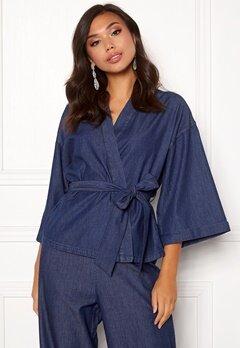 77thFLEA Yoko kimono  Medium blue Bubbleroom.se