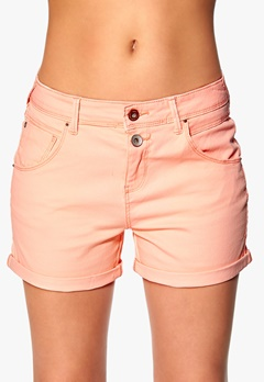 ONLY Lise Antifit Shorts Pale Neon Orange Bubbleroom.fi