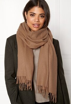 Samsøe & Samsøe Accola Maxi Scarf Indian Tan Bubbleroom.fi