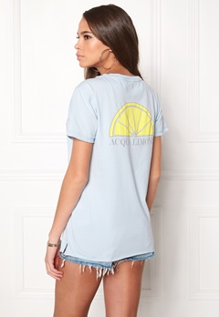 Acqua Limone Classic Tee Ice Blue Bubbleroom.no