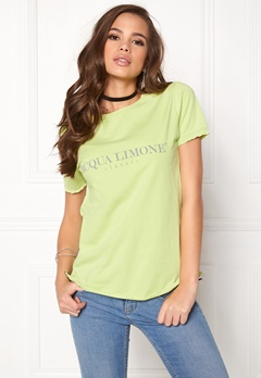 Acqua Limone Classic Tee Soft Lime Bubbleroom.no
