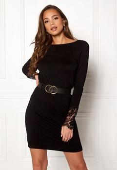 VERO MODA Ado Glory Boatneck Dress Black Bubbleroom.se