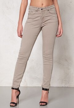 OBJECT Ally Canvas Pant Oxford Tan Bubbleroom.se