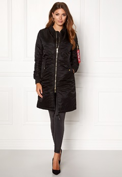Alpha Industries MA-1 Coat PM Black Bubbleroom.fi