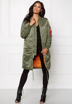 Alpha Industries MA-1 Coat Sage Green Bubbleroom.se
