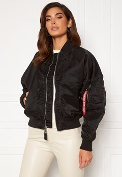 Alpha Industries MA-1 OS LW Wmn 03 Black Bubbleroom.se