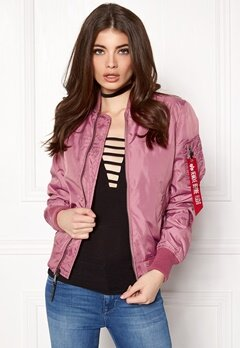 Alpha Industries MA-1 TT Dusty Pink Bubbleroom.se