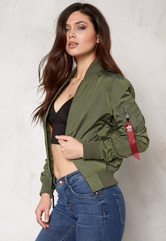 Alpha Industries MA-1 TT Sage Green Bubbleroom.fi