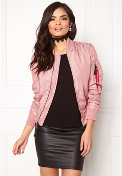 Alpha Industries MA-1 TT Silver Pink Bubbleroom.fi