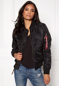 Alpha Industries MA-1 VF 59 Black Bubbleroom.fi