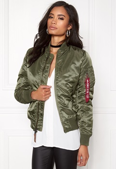 Alpha Industries MA-1 VF 59 S. Green Bubbleroom.fi
