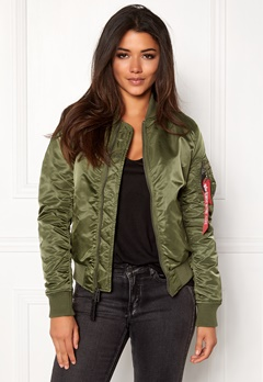 Alpha Industries MA-1 VF IP Sage Green Bubbleroom.fi