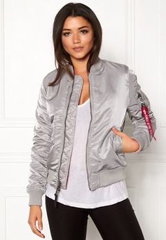 Alpha Industries MA-1 VF IP Silver Bubbleroom.fi