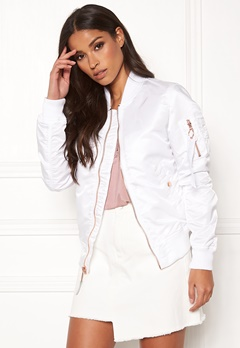 Alpha Industries MA-1 VF LW 09 White Bubbleroom.se