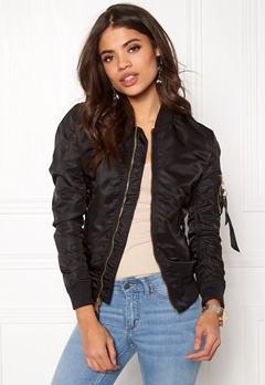 Alpha Industries MA-1 VF LW Black/Gold Bubbleroom.se