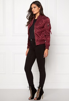 Alpha Industries MA-1 VF LW Burgundy Bubbleroom.fi