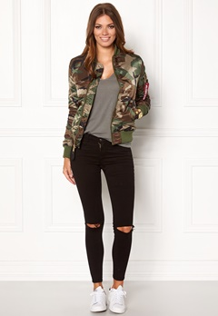 Alpha Industries MA-1 VF PM Camo Bubbleroom.fi