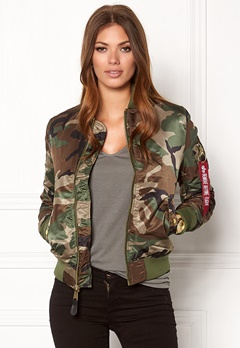 Alpha Industries MA-1 VF PM Camo Bubbleroom.se