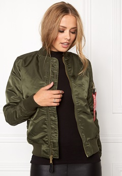 Alpha Industries MA-1 VF LW Dark Green Bubbleroom.no