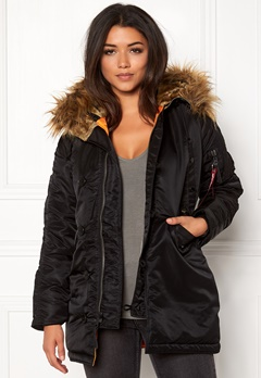 Alpha Industries N3B VF Black Bubbleroom.fi