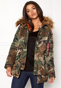 Alpha Industries N3B VF Camo Bubbleroom.fi