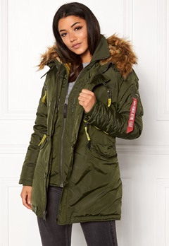 Alpha Industries PPS N3B Jacket Dark Green Bubbleroom.fi