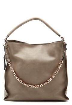 New Look Amelia Chain Strap Hobo Mid grey Bubbleroom.no