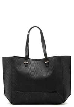 New Look Angela Snake Tote Shopper Black Bubbleroom.no