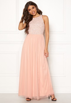 AngelEye Sleeveless Bodice Dress Nude Bubbleroom.se