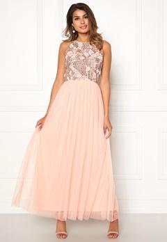 AngelEye Sleeveless Sequin Dress Pink Bubbleroom.se