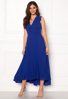 AngelEye Sleeveless Wrap Dress Blue Bubbleroom.se