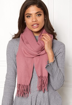 ONLY Anna Weaved Scarf Mesa Rose Bubbleroom.fi