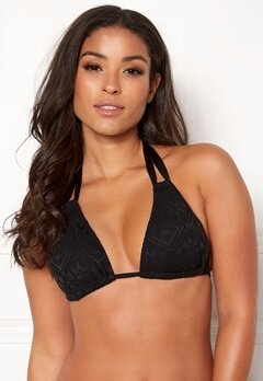 Dorina Aruba Triangle Bikini Top Black Bubbleroom.no