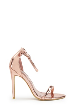 AX Paris Barely Heels Shoes Rose Gold Bubbleroom.se