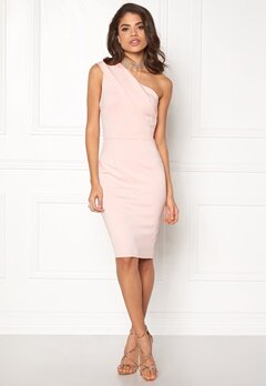 AX Paris One Shoulder Midi Bodycon Pink Bubbleroom.dk