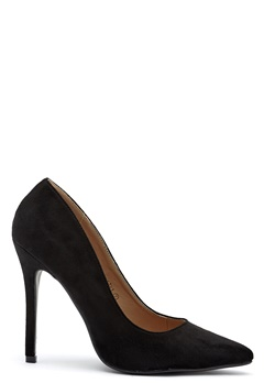 AX Paris Faux Suede Courts Black Bubbleroom.se