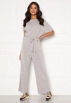 AX Paris Knitted Jumpsuit Grey Bubbleroom.se