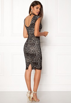 AX Paris Lace Midi Dress Black/nude Bubbleroom.dk